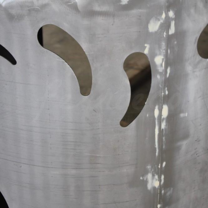 Bancone in ferro per evento Orticolario – Cernobbio
