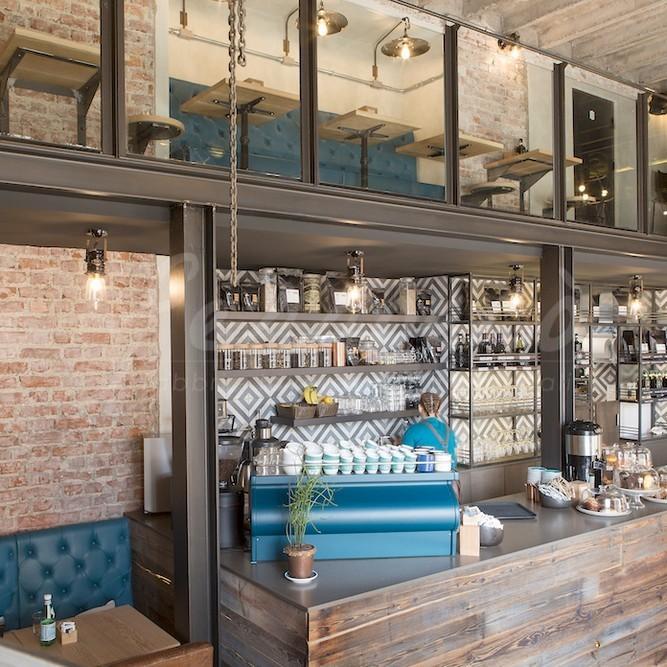 Arredamento locale bar ristorante Milano